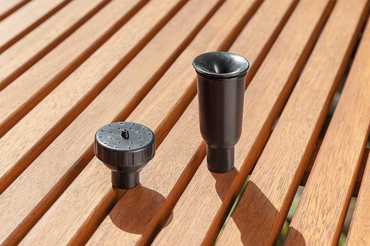 Solar teichfilter set 20 1300 solarpumpe gartenteich for Gartenteich ohne filter