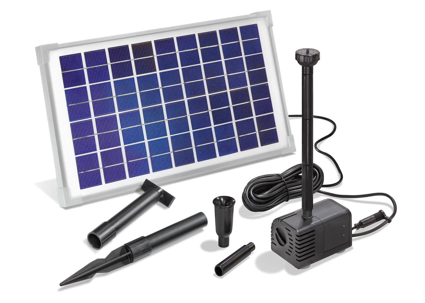 Solar Teichfilter Set 5//470 Solarpumpe Gartenteich Pumpenset Teich esotec 101065