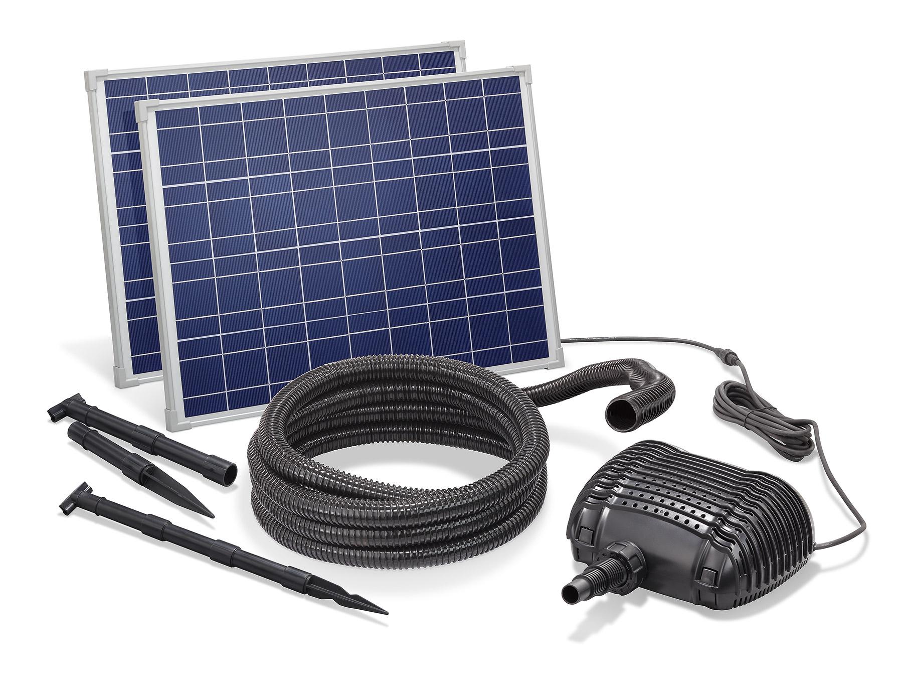 solar bachlaufpumpe 70w 3400l h solarpumpe wasserfall. Black Bedroom Furniture Sets. Home Design Ideas