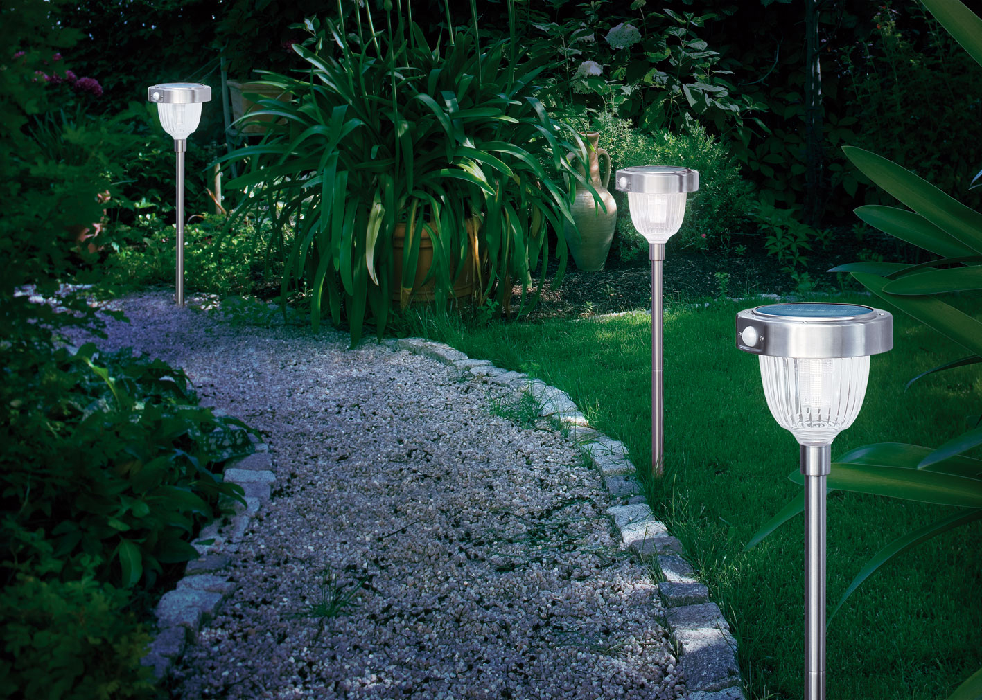 solar standleuchte asinara mit bewegungsmelder solarlampe. Black Bedroom Furniture Sets. Home Design Ideas