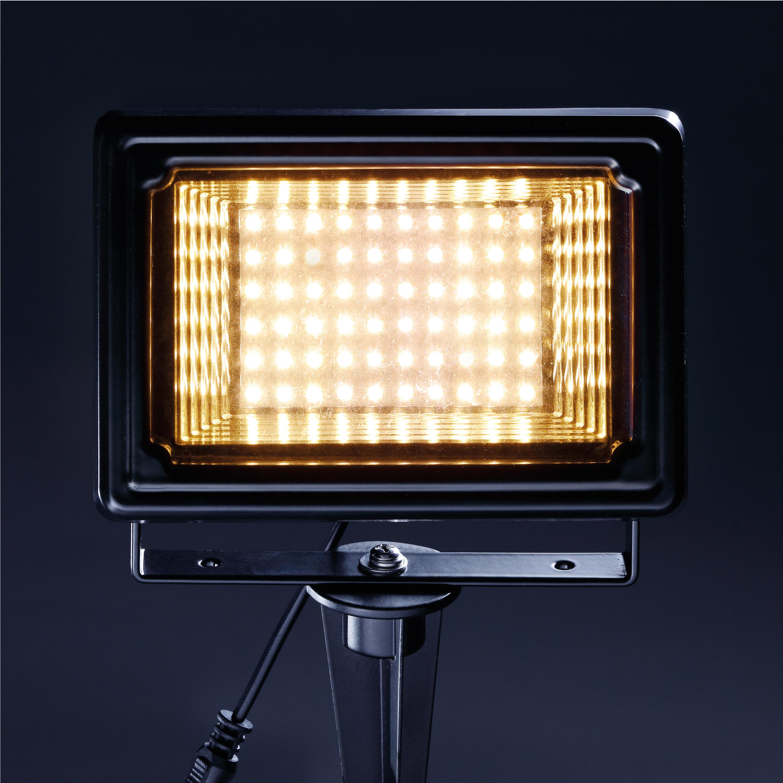 solar strahler 3000k warmwei flutlicht solarlampe garten. Black Bedroom Furniture Sets. Home Design Ideas
