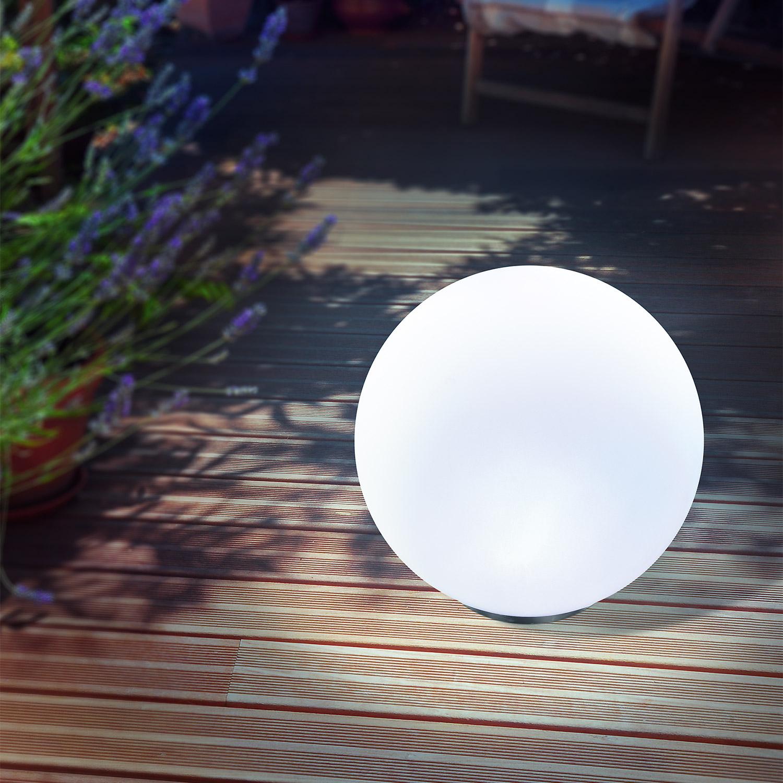 solar leuchtkugel 30cm lichtfarbe einstellbar solarleuchte. Black Bedroom Furniture Sets. Home Design Ideas